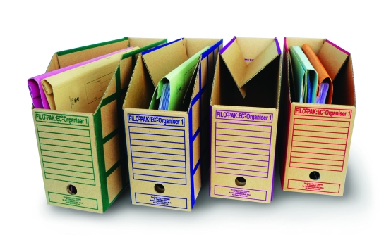 EC Organiser with files