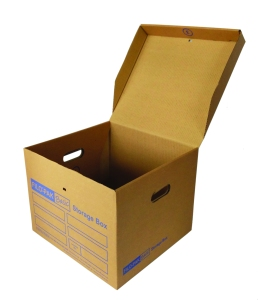 Filo-Pak Basic Storage Box (open)